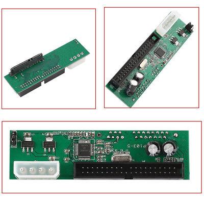 6.3cmA 8.9cm Pata / Ide A Serial Ata SATA Adaptador Convertidor Para...