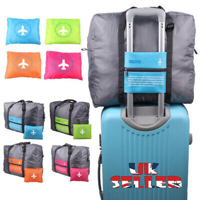 Waterproof Travel Larg Size Foldable Luggage Bag Storage Carry-On Duffle Shoulde