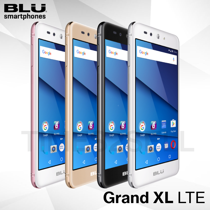 Android Phone - BLU Grand XL LTE G0031WW 16GB Unlocked GSM 4G LTE Dual SIM Android Phone - New