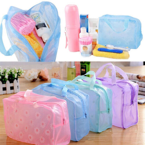 Waterproof Bathing Pouch Cosmetic Bag Toiletry Shower Travel Soap Holiday Bag
