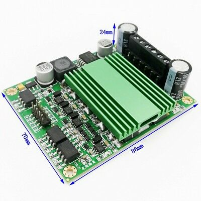 100a Dual Channel H-bridge Dc Motor Drive Module High Power Motor Speed Control