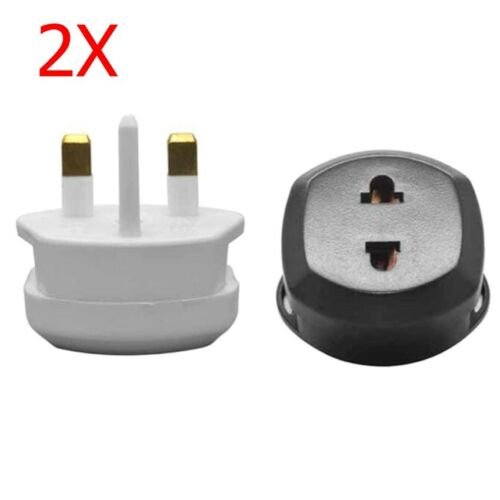 Shaver Plug Adapter UK To 2 Pin Socket Plug Fuse Toothbrush For Bathroom Shaving