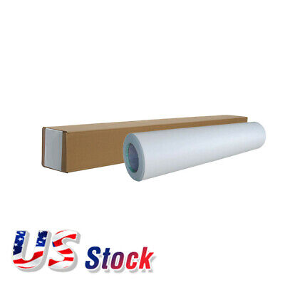 Us Stock 1 Roll 54 X 50yd Roll Glossy Cold Laminating Film Monomeric 3.15 Mil
