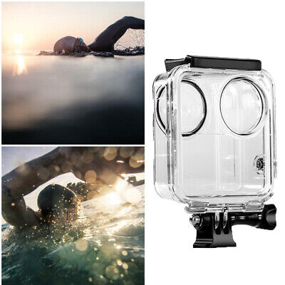 Waterproof Housing Shell Case for GoPro Max 360 Panoramic Camera Accessories 45M