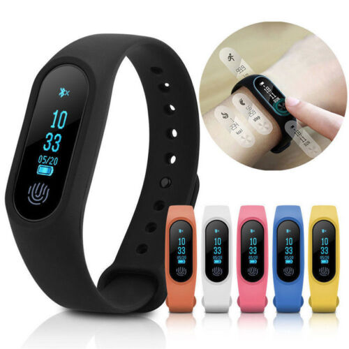 Wholesale Waterproof Band 2 M2 Smart Watch Heart Rate Monitor Fitness Tracker