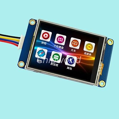 2.4 Tft Usart Hmi Intelligent Smart Touch Panel Lcd Module Display
