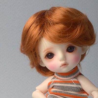 1//6 BJD 18 cm 7inch Wig SUSM Wave Dollmore Blond