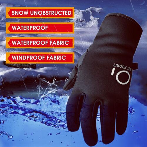 Winter Gloves Men Women Thermal Full Finger Photography Came