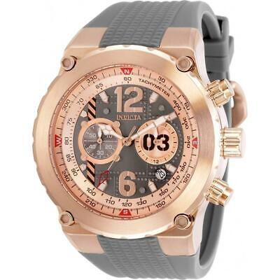 Invicta 31583 Aviator 50MM Men's Black Silicone Watch