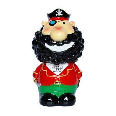 Spardose Sparbüchse Pirat Mann mit Bart
