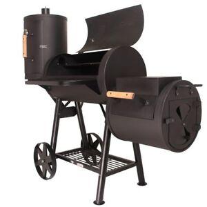 Häufig Taino Massiver Smoker BBQ Holzkohle Grillwagen - 3.5mm Stahl ET98