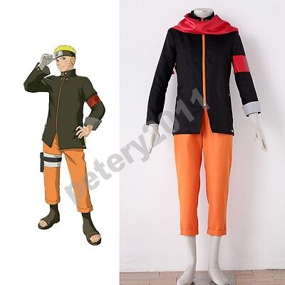 Naruto Anime Coslay Costumes The last Uzumaki Naruto Ninja Cosplay Costume  - Cosplay Costumes Naruto