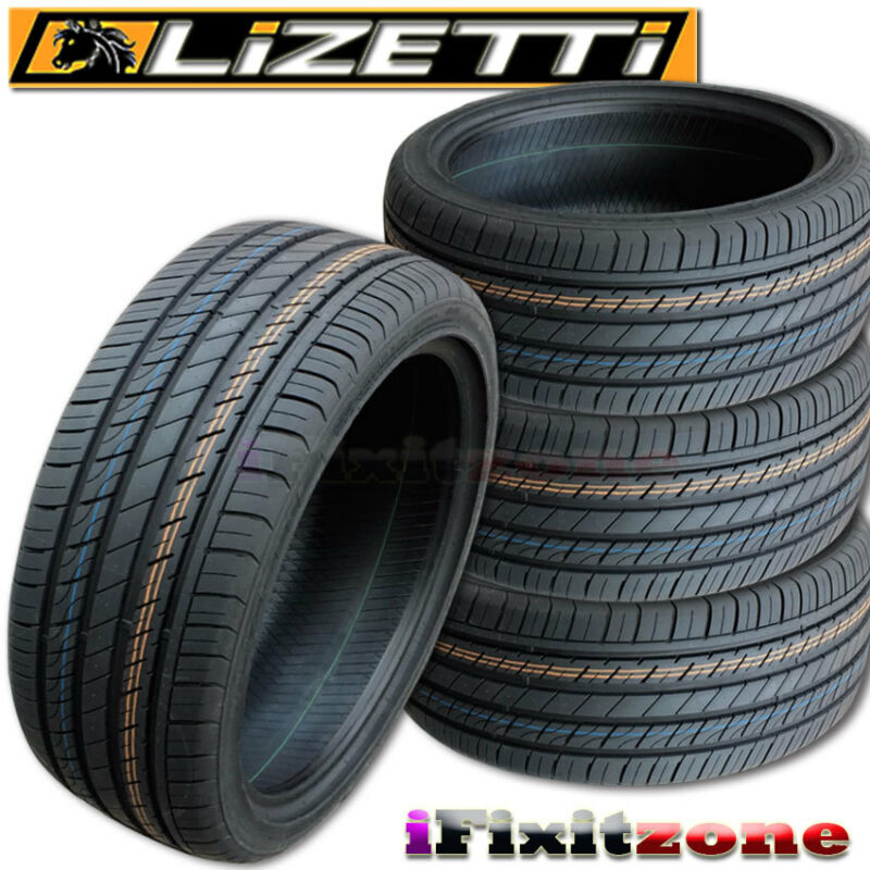 4 Lizetti LZ-ES20 235/55R17 99V All Season Performance Tires 235/55/17