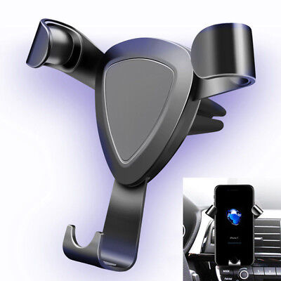 360° Universal Gravity Car Mount Air Vent Holder Stand FR Cell Phone GPS Samsung Car Mount Air Vent Gps
