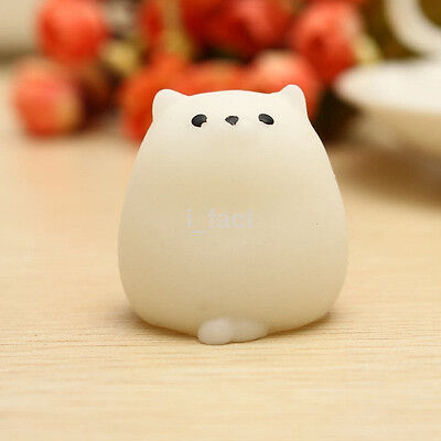 HOT Funny Cute Fat Cat Gel Squishy Squeeze Healing Stress Reliever Decor Gifts S