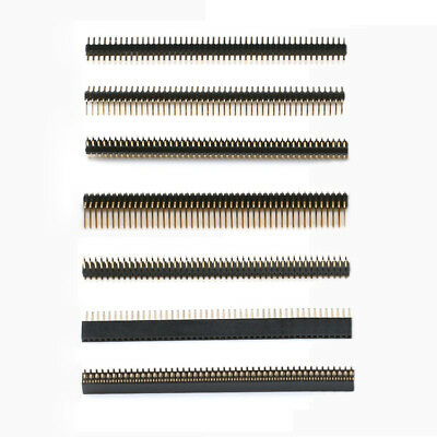 40 50 Pins 1.27mm Pcb Straightangledsmt Pin Header Socket Single Double Row