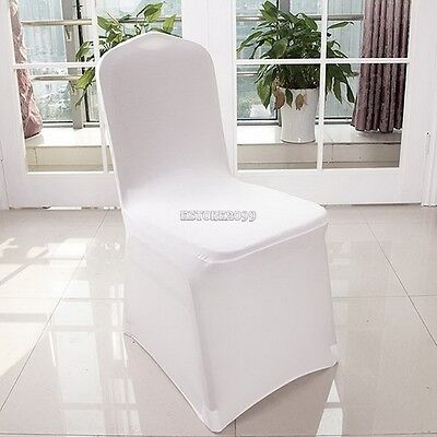 Folding Chair Seat Covers (100-300 PCS Spandex Folding Chair Covers Wedding Party Banquet Event Seat Covers )