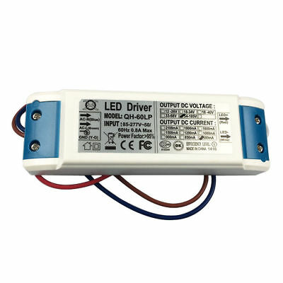 18-30x 3w Led Driver Power Supply 600ma For 30pcs 3w High Power Led Chip