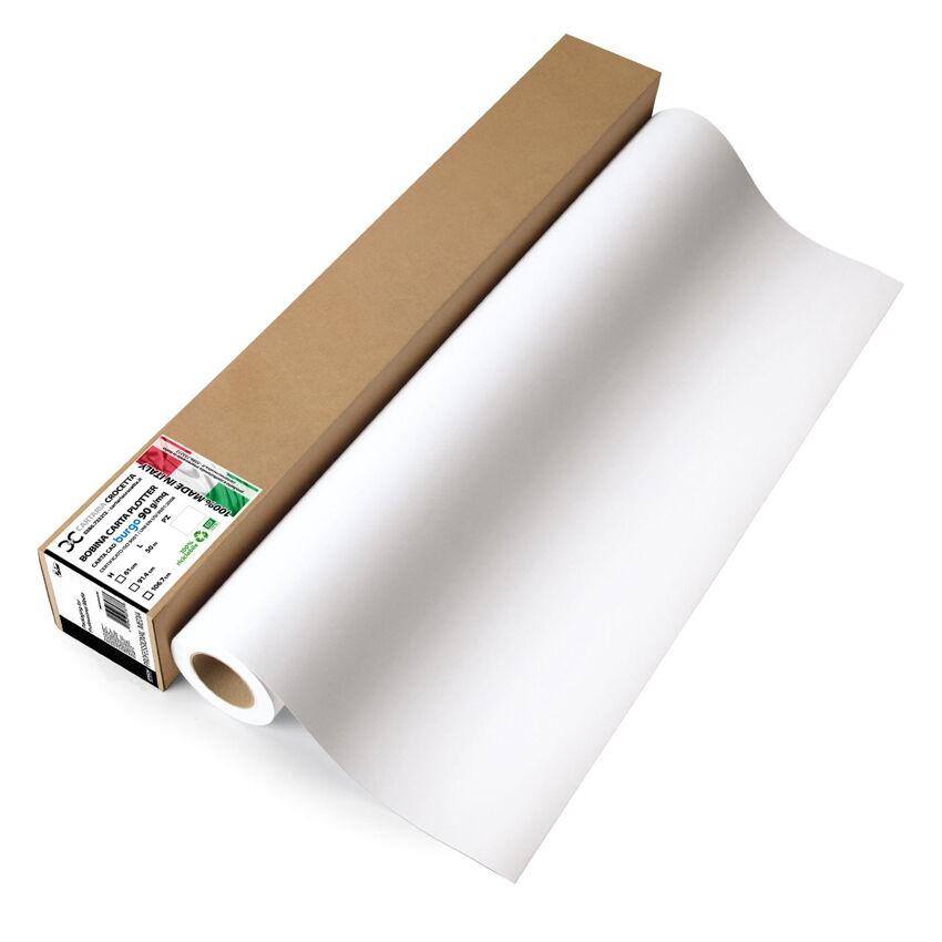 rotolo carta plotter  form A1 90 gr  61.0 cm  L= 50m  cert ISO 9001