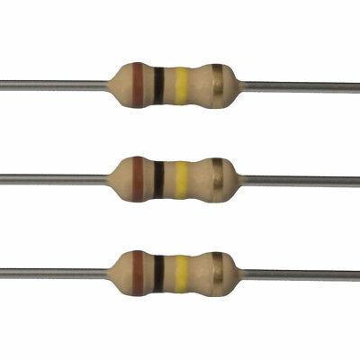 10 X 100k Ohm Carbon Film Resistors - 14 Watt - 5 - 100k - Fast Usa Shipping