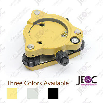 Topcon Style Tribrach With Optical Plummet Yellow Black And Grey