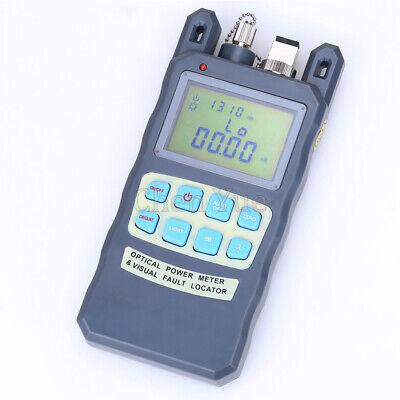 10mw Visual Fault Locator -7010dbm Fiber Optic Power Meter Cable Tester Tool