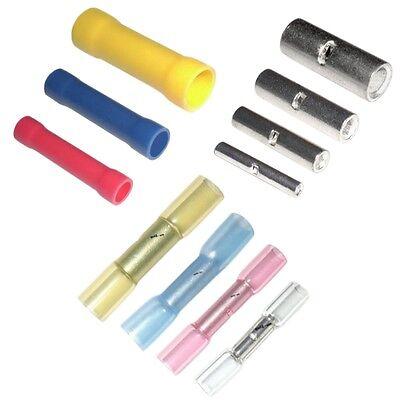 Stoßverbinder Quetschverbinder Kabelverbinder verschiedene Typen und Mengen