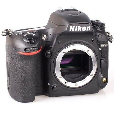 Nikon D750 DSLR Kamera Gehäuse 24.3MP FX - Neu