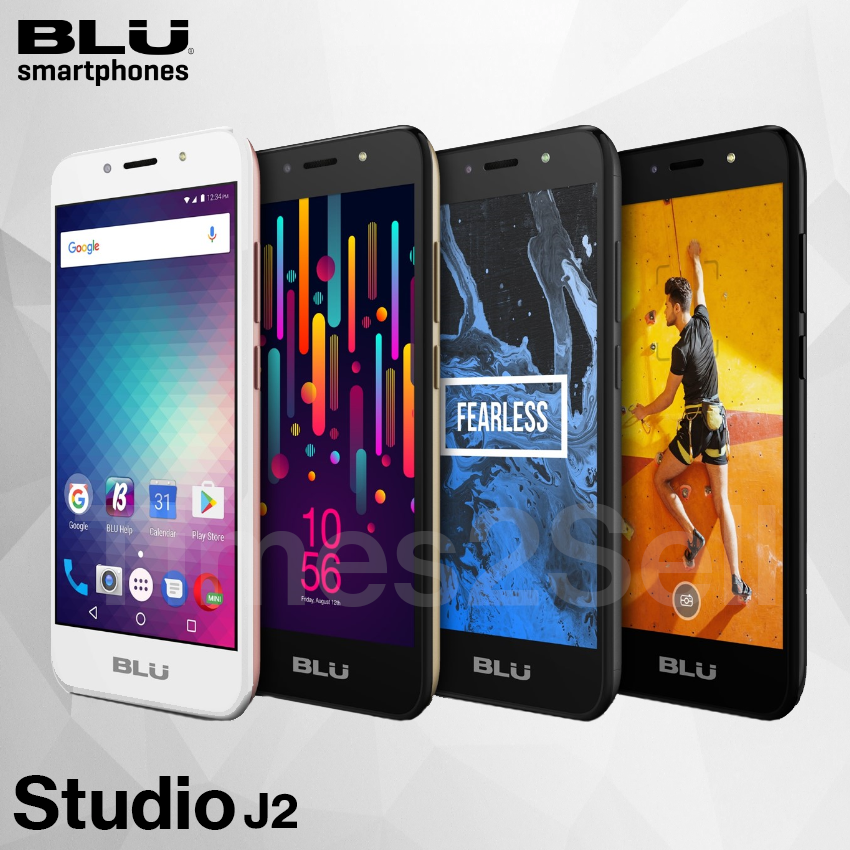 Android Phone - Blu Studio J2 Unlocked 5'' 4G Factory Unlocked Smart Phone Android 8GB New