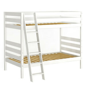 Kids twin bed, loft bed with slide, bunk bed ON SALE