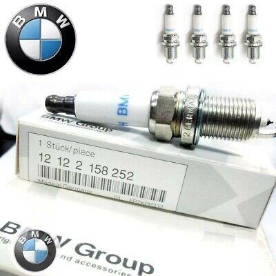 8pcs Genuine BMW Spark Plug FR7KPP332 - 12122158252 For550i 650i 750i 750Li X5