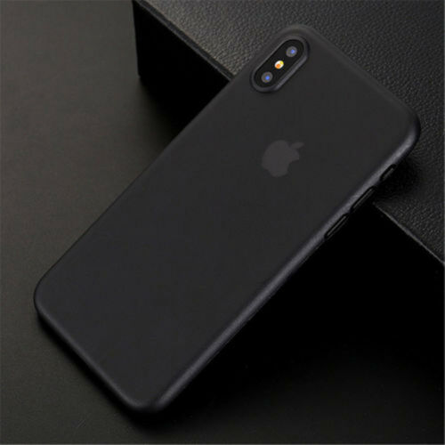 Premium Ultra Thin Slim PP Matte Case Cover Skin for Apple iPhone XS XR XS Max