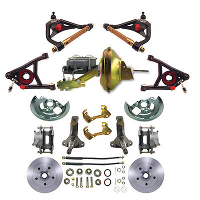 Chevelle Control Arms Std Disc Brakes Pwr Brake Kit All in a single package