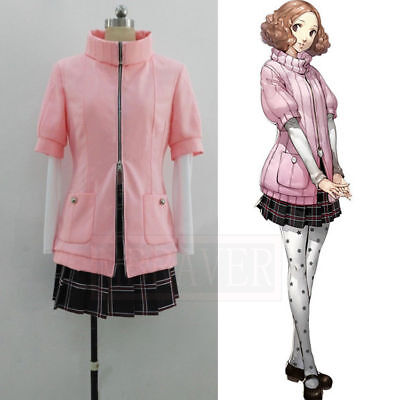 Persona 5 Haru Okumura Cosplay Costume Uniform Halloween Christmas Party HH.666