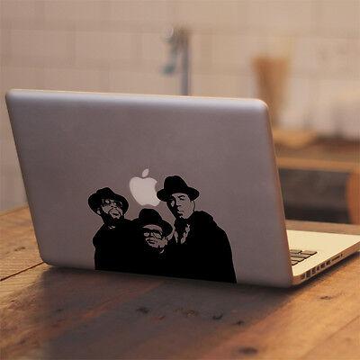 Run DMC Vinyl Decal Sticker for Macbook Air/Pro Laptop Car Truck Window Decor