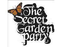 2 x Secret Garden Party Tickets (inc parking)