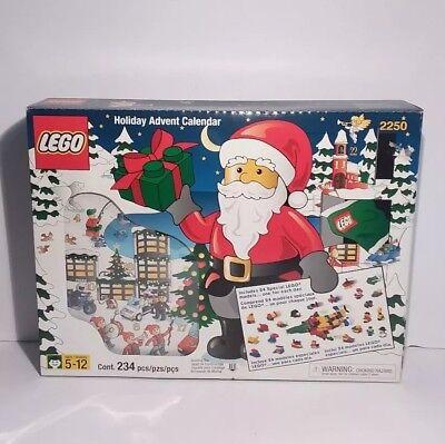 Christmas Holiday Advent Calendar - Lego Holiday Advent Calendar 2250 Christmas Unused