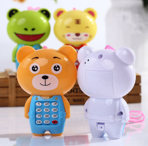 Creative Cartoon Animal Music Mobile Phone Kids Educational Learning Toys Game