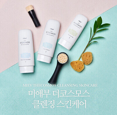 [MIEV THECOSMOS] 100% Nature & Chemical-free Cleansing 3 Step Skincare/ K-Beauty