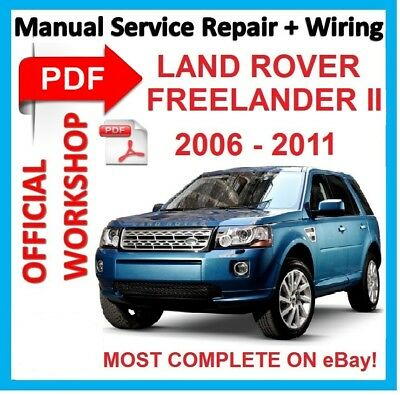 OFFICIAL WORKSHOP MANUAL service repair FOR LAND ROVER FREELANDER II  2006-2011 | eBay