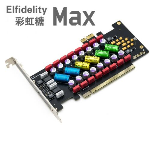 1PCS Elfidelity PC HI-FI Power Filter card PCI/PCI-E HiFi PC audio power purific