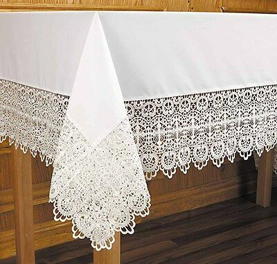 Budded Cross Altar Cloth (B2990) NEW 44x88 Inches 7 Inches Lace