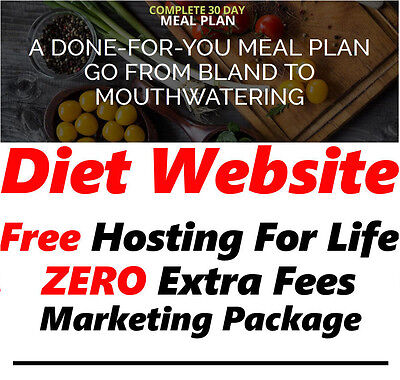 Health Website - Home Online Internet Business - No Extra Fees Website For Sale