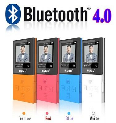 RUIZU X18 Mini MP3/MP4 Player,8 GB,Bluetooth,FM Radio,120 Stunden Wiedergabe