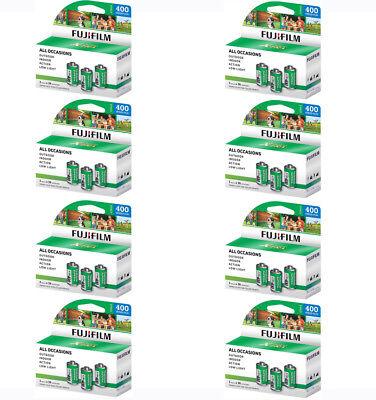 24 Rolls Fuji Superia (3 Pack) X-TRA CH 400 36 Exp 35mm Film, 864 Exp1/20