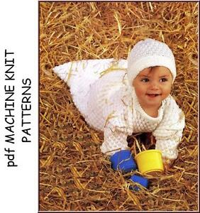 Brother Machine Knitting Patterns for Babies & Children on cd .1