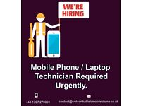 Mobile Phone / Laptop Technician Required Urgently Hatfield Hertfordshire