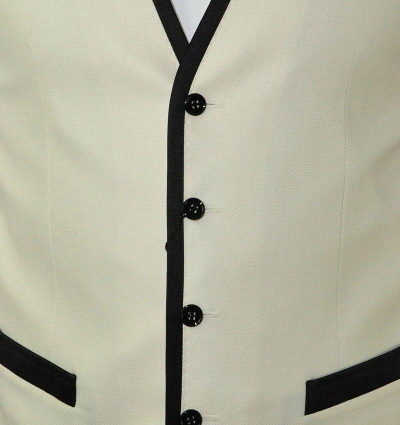 DOLCE /& GABBANA Waistcoat Vest White Silk Gilet Blanc Soie 01869