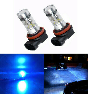 Parts Accessories Led Lights H11 Ice Blue LED Fog Lights Bulb Driving Lamp DRL