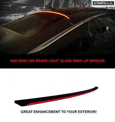 2009-2015 by HS LED LED Brake Light Roof Lip Spoiler for AUDI A4 B8